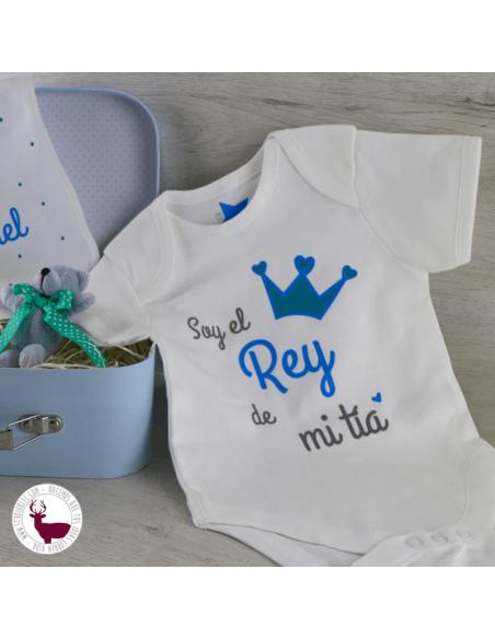 Body para recién nacido con frase personalizada.