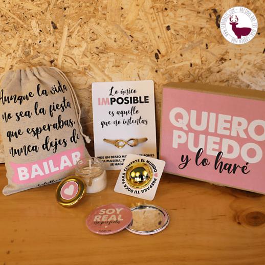 Kit para mujeres emprendedoras que quieren comerse el mundo.