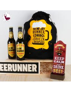 Pack para cerveceros y cerveceras a los que les gusta correr.