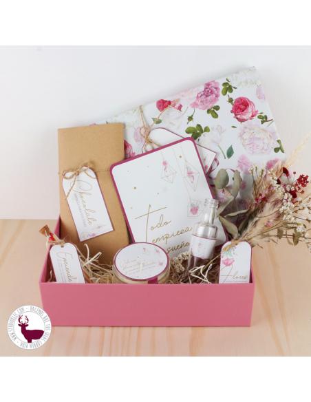 Pack regalo para una emprendedora o emprendedor.