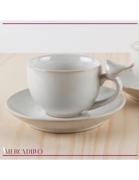 Conjunto cerámica desayuno