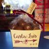 Cajita boda bolas de chocolate