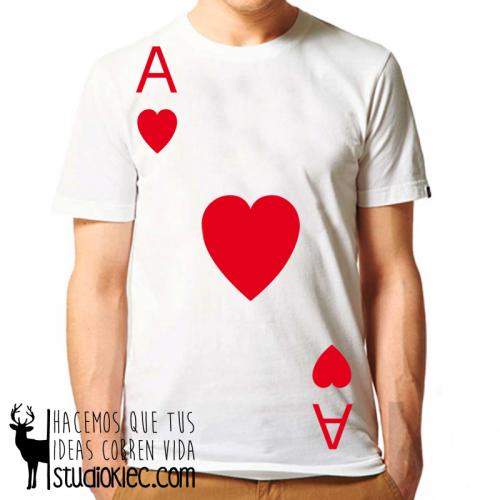 """Camiseta """"As Corazones"""""""