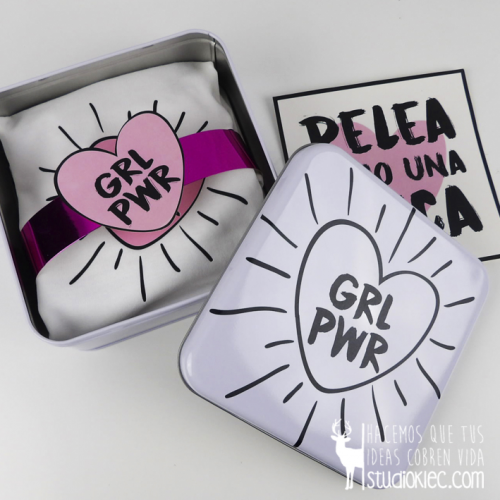 "Pack GIRL POWER ""camiseta y body"""